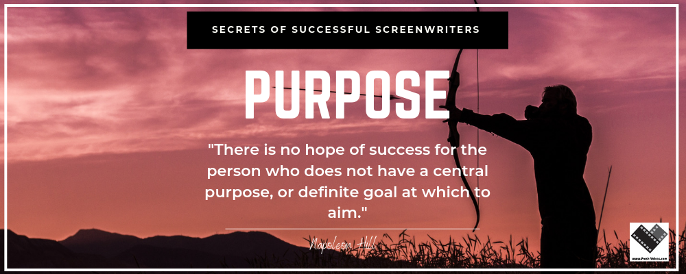 Secrets of Screenwriting Purpose 1000x400