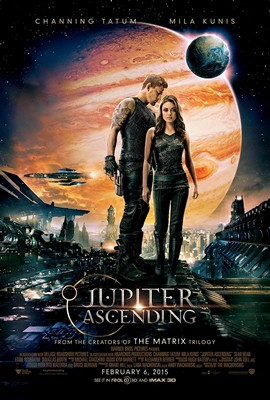 Jupiter Ascending Theatrical Poster