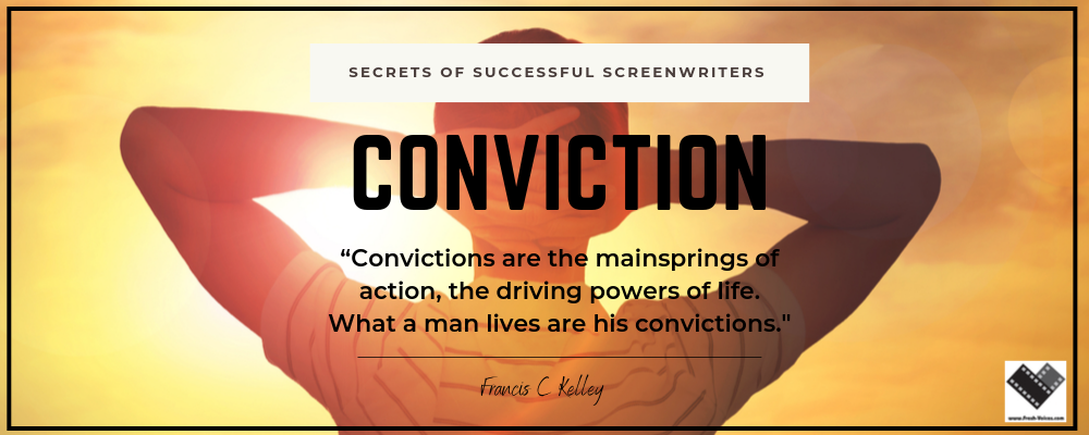 Secrets of Successful Screenwriters.Conviction 1000x400