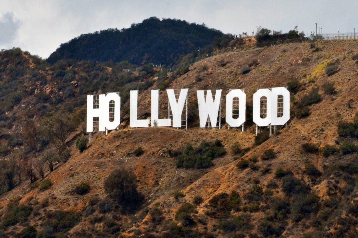 hollywood sign Cropped